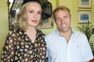Cary Harrison_Julie Newmar & Harrison