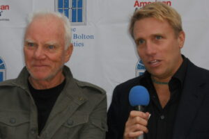 Cary Harrison_Malcolm McDowell & Harrison