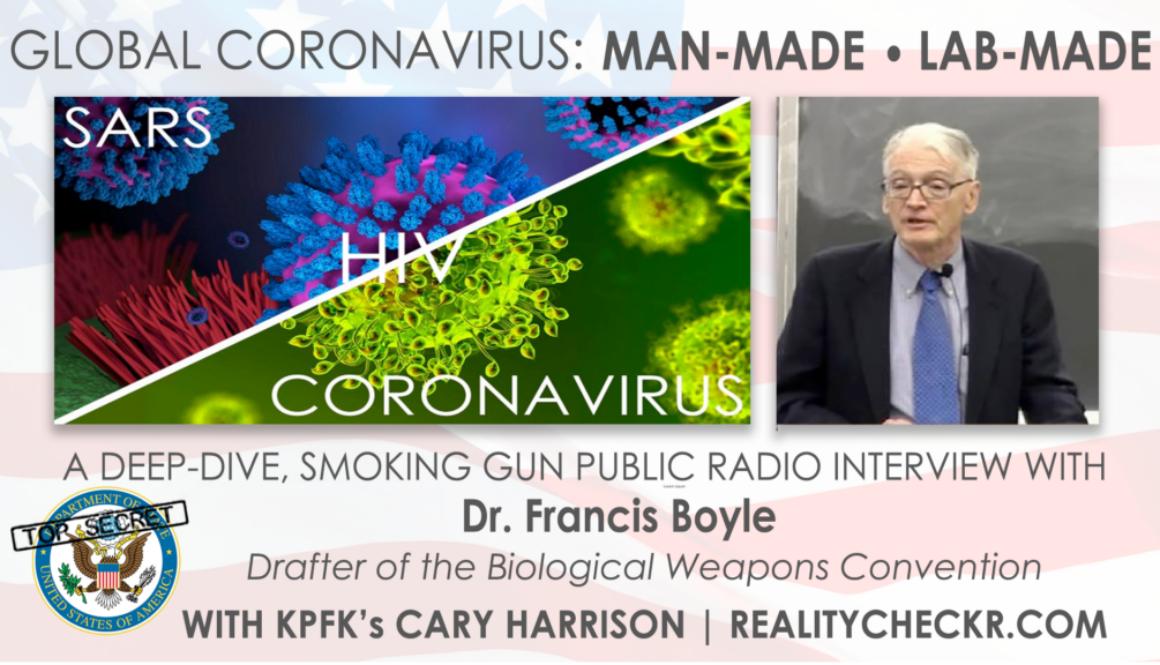 francis boyle_coronavirus-sars-hiv_cary harrison_realitycheckr.com